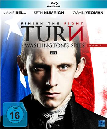 Turn - Washington's Spies - Staffel 4 (4 Blu-rays)