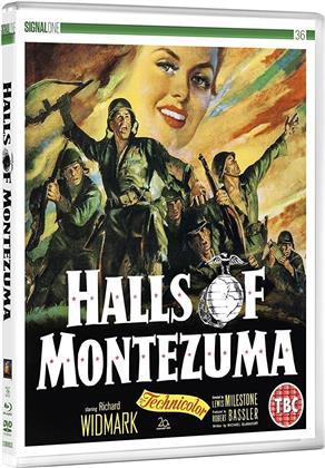 Halls Of Montezuma (1951) (DualDisc, Blu-ray + DVD)