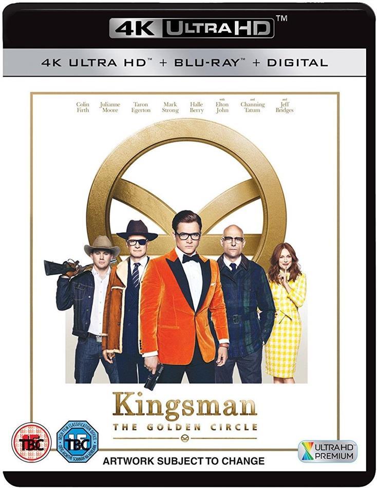 Kingsman 2 - The Golden Circle (2017) (4K Ultra HD + Blu-ray)