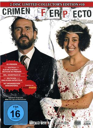 Crimen Ferpecto (2004) (Cover C, Limited Edition, Mediabook, Uncut, Blu-ray + CD)