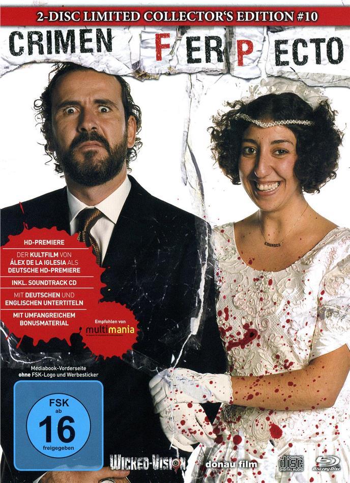 Crimen Ferpecto (2004) (Cover C, Edizione Limitata, Mediabook, Uncut, Blu-ray + CD)
