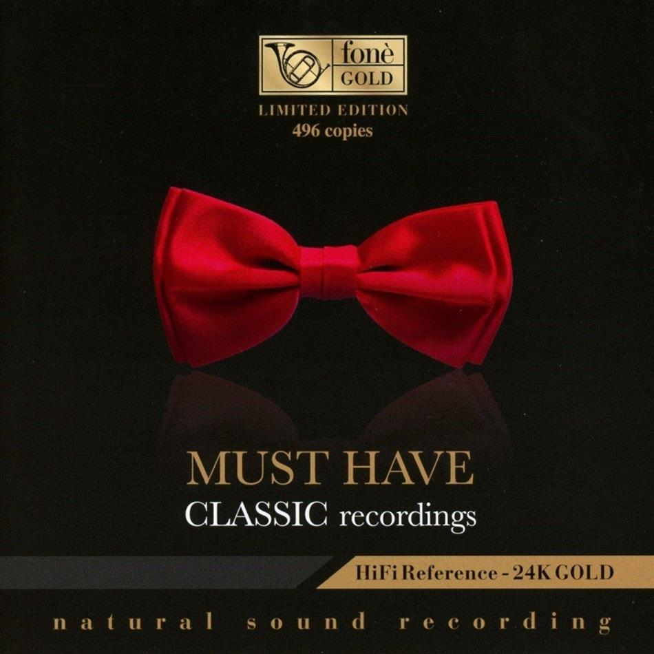 Must Have Classic Recordings - HiFi Reference - 24K Gold - Natural Sound Recording