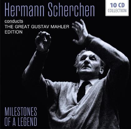 Hermann Scherchen - Conducts Mahler (10 CDs)