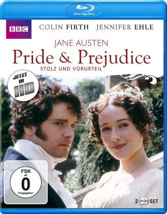 Pride & Prejudice - Stolz und Vorurteil (1995) (BBC, 2 Blu-ray)