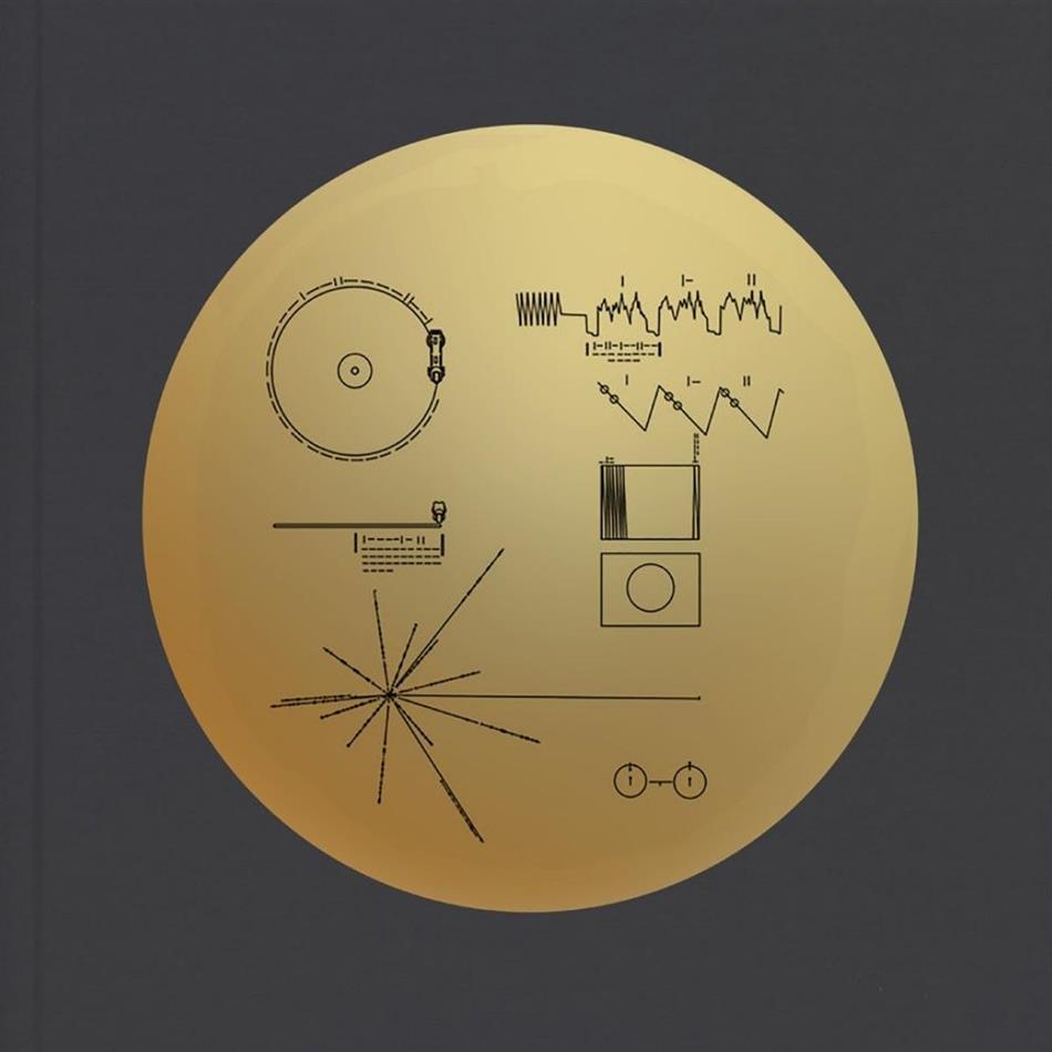 Voyager Golden Record (2 CDs + Buch)
