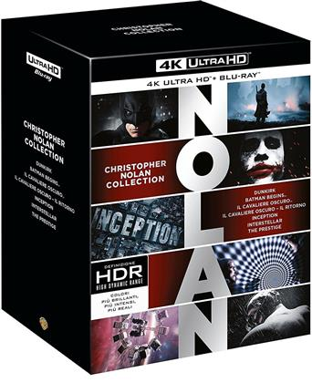 Christopher Nolan Collection (7 4K Ultra HDs + 14 Blu-ray)