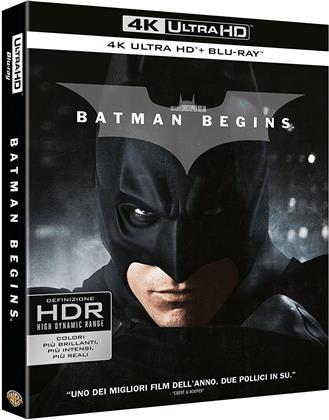 Batman Begins (2005) (4K Ultra HD + Blu-ray)