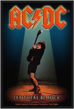AC/DC Standard Patch - Let There Be Rock (Loose)