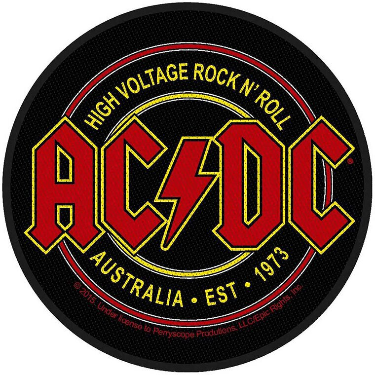 AC/DC - High Voltage Rock N Roll - Patch