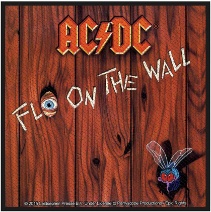 AC/DC Standard Patch - Fly on the Wall (Loose)