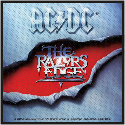 AC/DC Standard Patch - The Razors Edge (Loose)