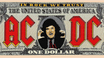 AC/DC - Bank Note - Patch