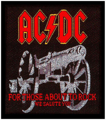 AC/DC - For Those About To Rock - Patch