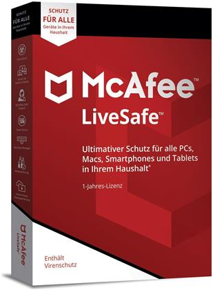 McAfee LiveSafe 2018 Unlimited Devices [PC/Mac/Android/iOS] (M)