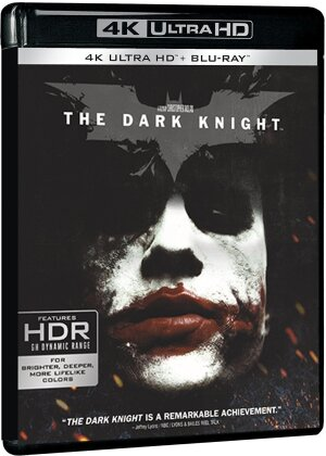 Batman - The Dark Knight - Le chevalier noir (2008) (4K Ultra HD + Blu-ray)