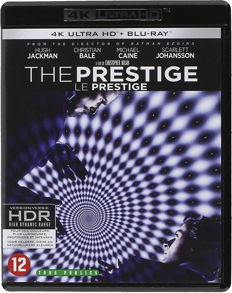 The Prestige - Le Prestige (2006) (4K Ultra HD + Blu-ray)