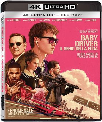 Baby Driver - Il genio della fuga (2017) (4K Ultra HD + Blu-ray)