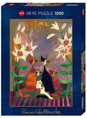 Rosina Wachtmeister: Lilies - 1000 Teile