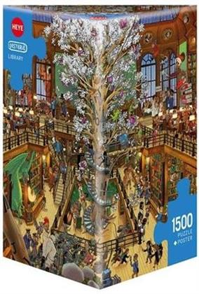 Library - 1500 Teile Puzzle