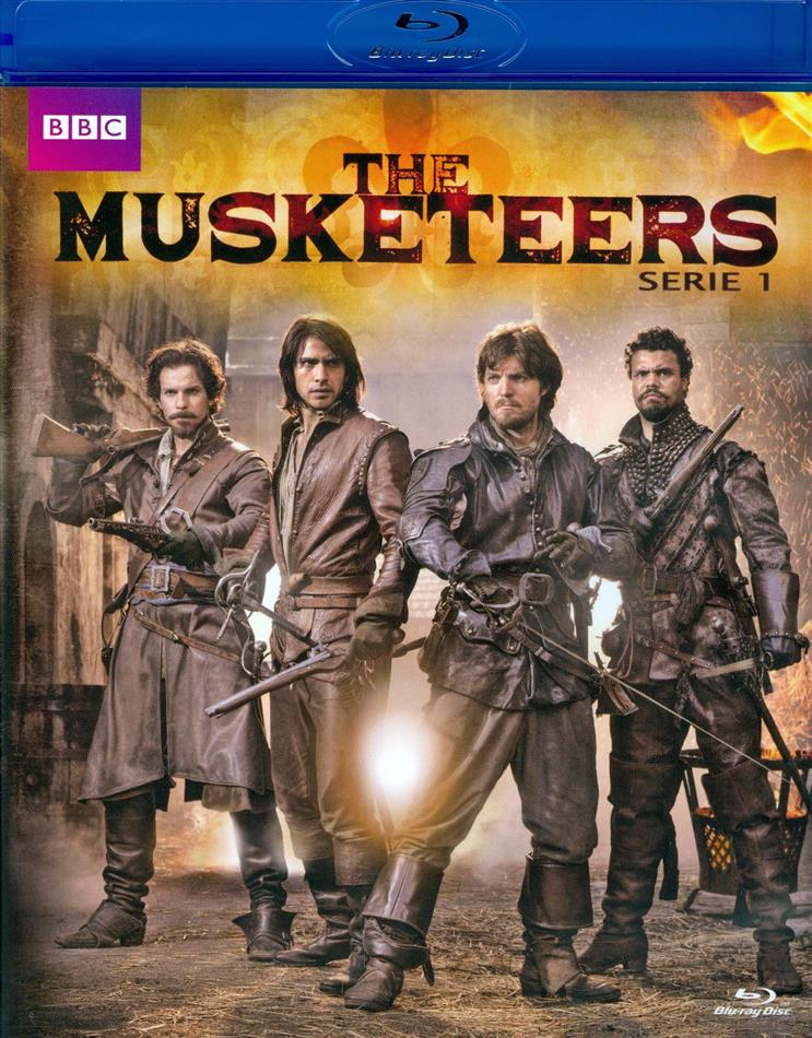 The Musketeers - Stagione 1 (BBC, Neuauflage, 3 Blu-rays)