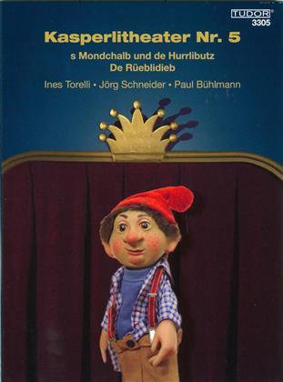 Kasperlitheater Nr. 5 - S Mondchalb und de Hurrlibutz / De Rüeblidieb (Digibook)