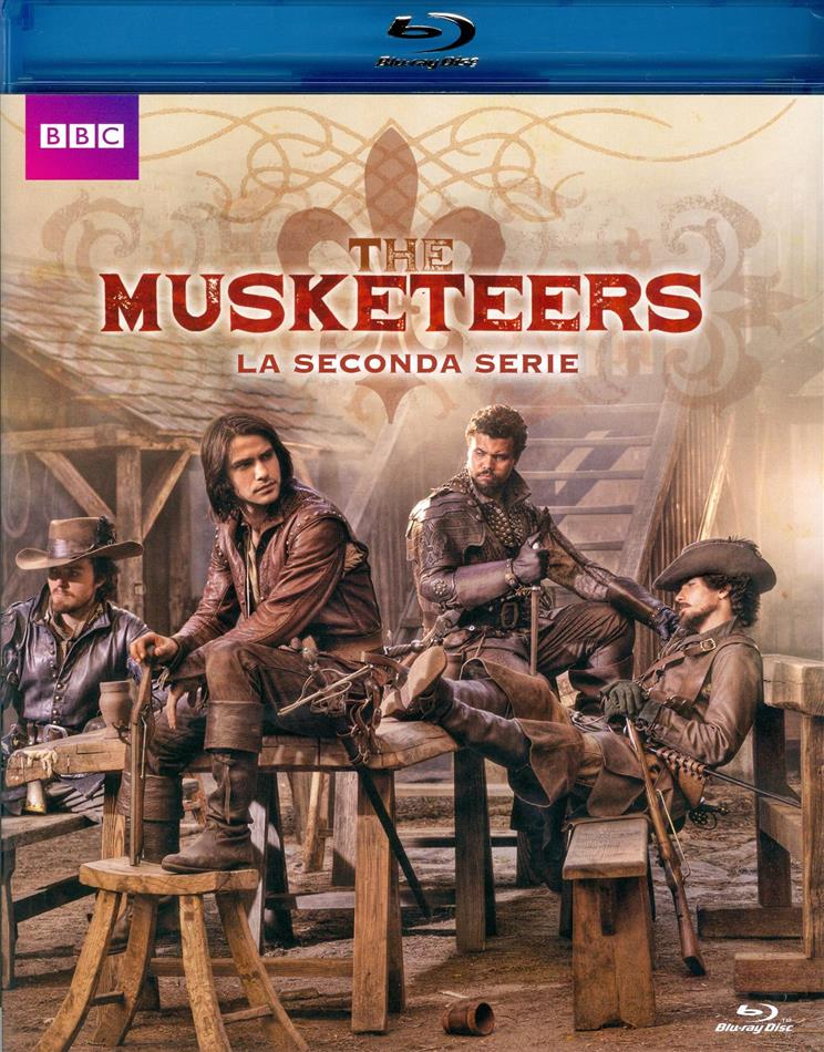 The Musketeers - Stagione 2 (BBC, 3 Blu-ray)