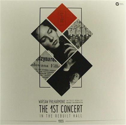 Warsaw Philharmonic, Witold Rowicki & Wanda Wilkomirska - The 1st Concdrt In The Rebuilt Hall 1955 (LP)