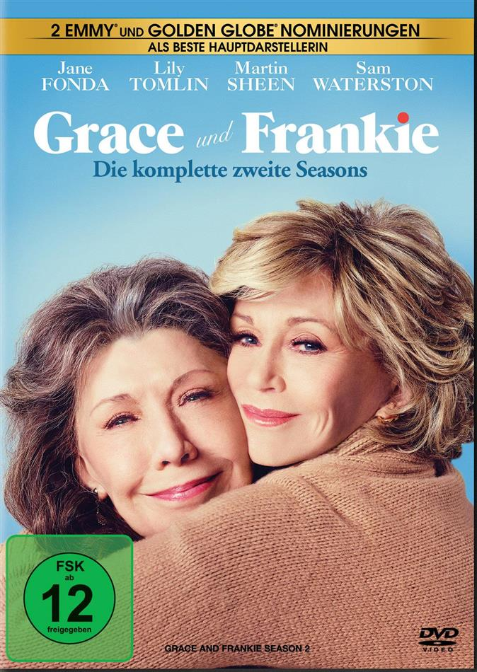 Grace & Frankie - Staffel 2 (3 DVDs)