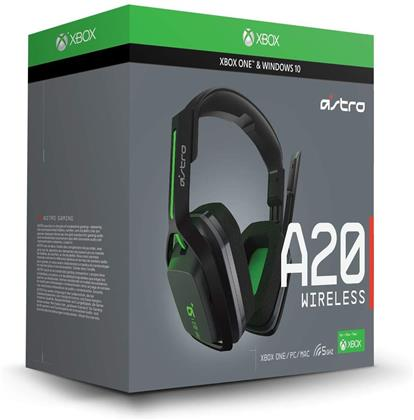 Astro Gaming A20 Headset (Xbox One, PC, MAC) - Grey/Green