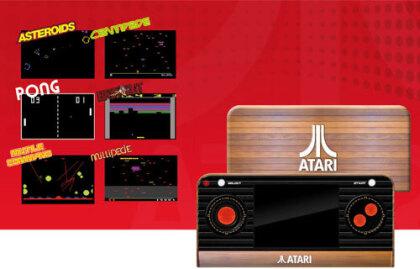 Atari Retro Handheld Konsole inkl 50 Spiele