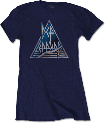 Def Leppard Ladies T-Shirt - Triangle Logo
