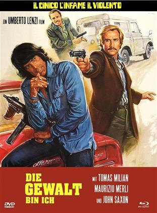 Die Gewalt bin ich (1977) (Eurocult Collection, Cover A, Limited Edition, Mediabook, Blu-ray + DVD)