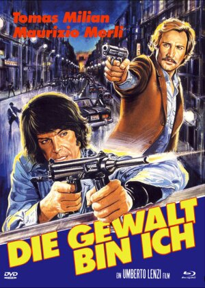 Die Gewalt bin ich (1977) (Eurocult Collection, Cover B, Limited Edition, Mediabook, Blu-ray + DVD)