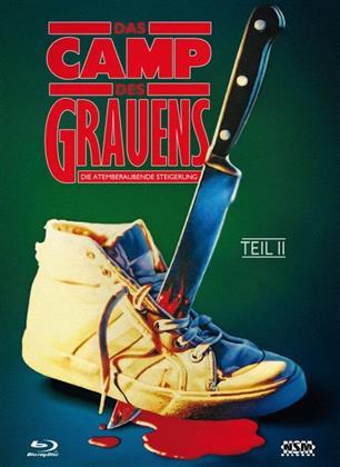 Das Camp des Grauens - Teil 2 - Die atemberaubende Steigerung (1988) (Cover A, Collector's Edition, Limited Edition, Mediabook, Blu-ray + DVD)