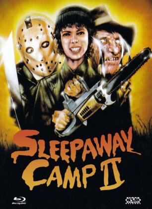 Sleepaway Camp 2 (1988) (Cover B, Collector's Edition, Limited Edition, Mediabook, Blu-ray + DVD)