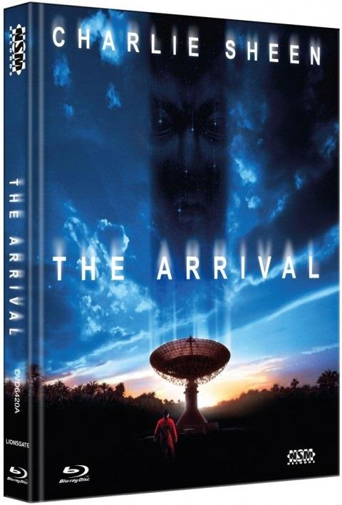 The Arrival (1996) (Cover A, Collector's Edition, Limited Edition, Mediabook, Blu-ray + DVD)