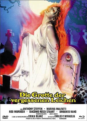 Die Grotte der vergessenen Leichen (1971) (Cover F, Eurocult Collection, Limited Edition, Mediabook, Uncut, Blu-ray + DVD)