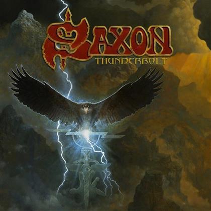Saxon - Thunderbolt (inklusive Pin, Boxset, LP + 2 CDs + Audio cassette)