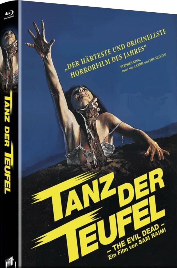 Tanz der Teufel (1981) (Grosse Hartbox, Limited Edition, Remastered, Uncut, 2 Blu-rays)