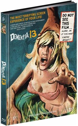 Dementia 13 (1963) (Cover A, Limited Edition, Mediabook, Uncut, Blu-ray + DVD)