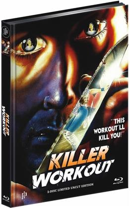 Killer Workout (1987) (Cover B, Limited Edition, Mediabook, Uncut, Blu-ray + DVD)