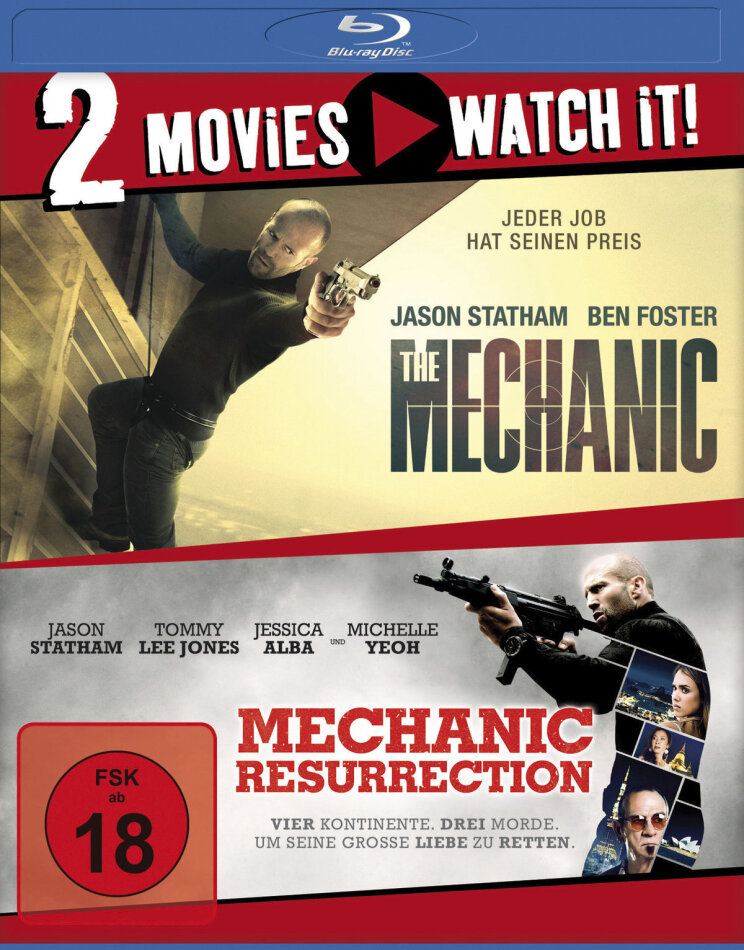 The Mechanic / Mechanic 2: Resurrection (2 Blu-rays)