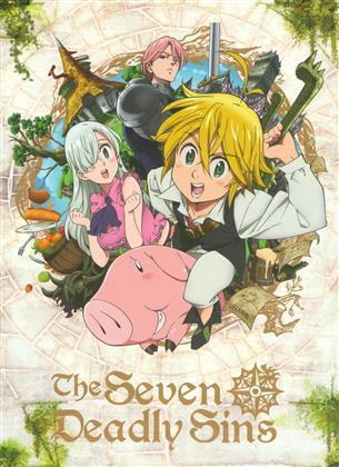 The Seven Deadly Sins - Intégrale Saison 1 (5 DVDs)