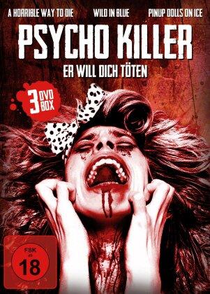 Psycho Killer - Er will dich töten - 3 Spielfilme Box (3 DVDs)