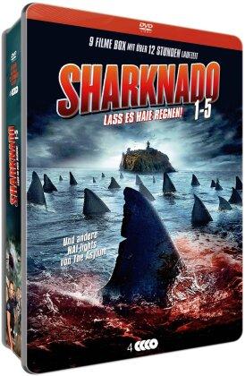 Sharknado 1-5 (Metalbox, Limited Edition, 4 DVDs)