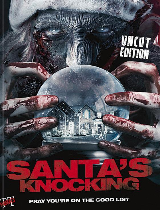 Santa's Knocking (2015) (Cover A, Limited Edition, Mediabook, Uncut)