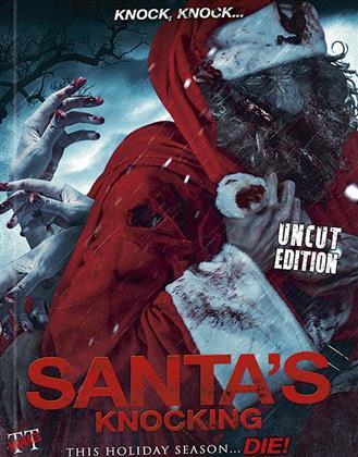 Santa's Knocking (2015) (Cover B, Edizione Limitata, Mediabook, Uncut)