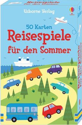 50 Karten - Reisespiele für den Sommer