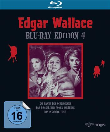 Edgar Wallace Edition 4 (4k, 4K Mastered, 3 Blu-rays)