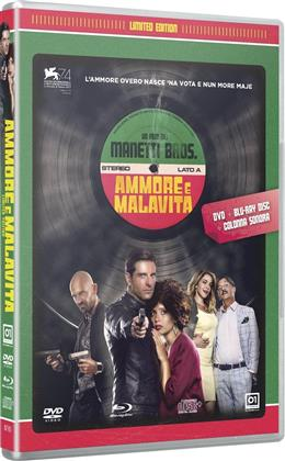 Ammore e malavita (2017) (Limited Edition, Blu-ray + DVD + CD)